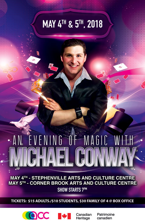 An Evening of Magic with Michael Conway